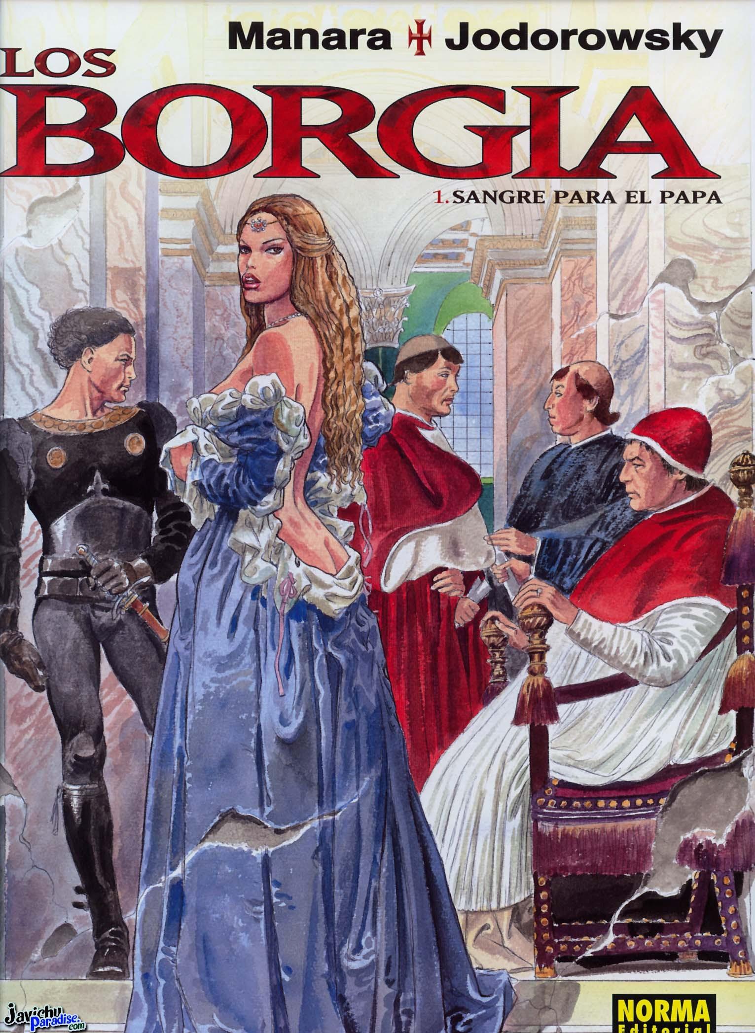 Los Borgia #01 – Sangre para el Papa