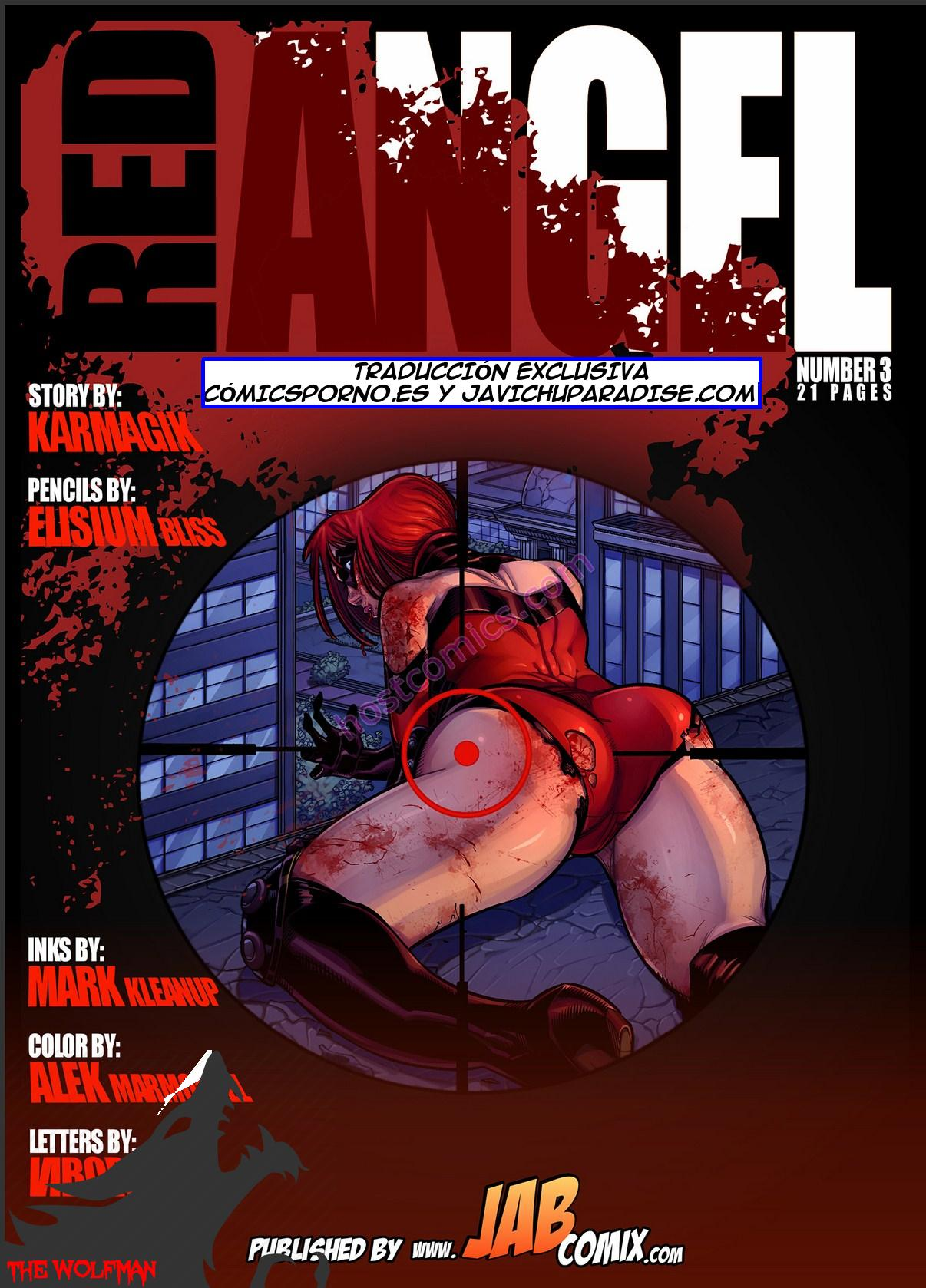 Red Angel 3 (Jabcomix) [Completo]