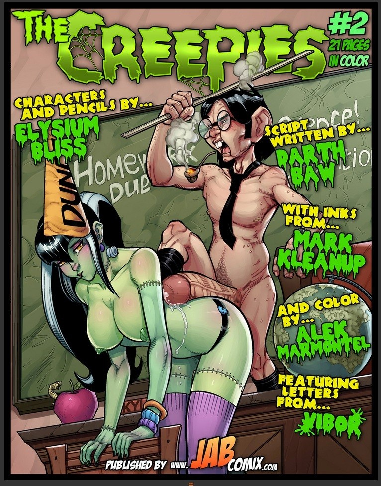 The Creepies 2 Jabcomix