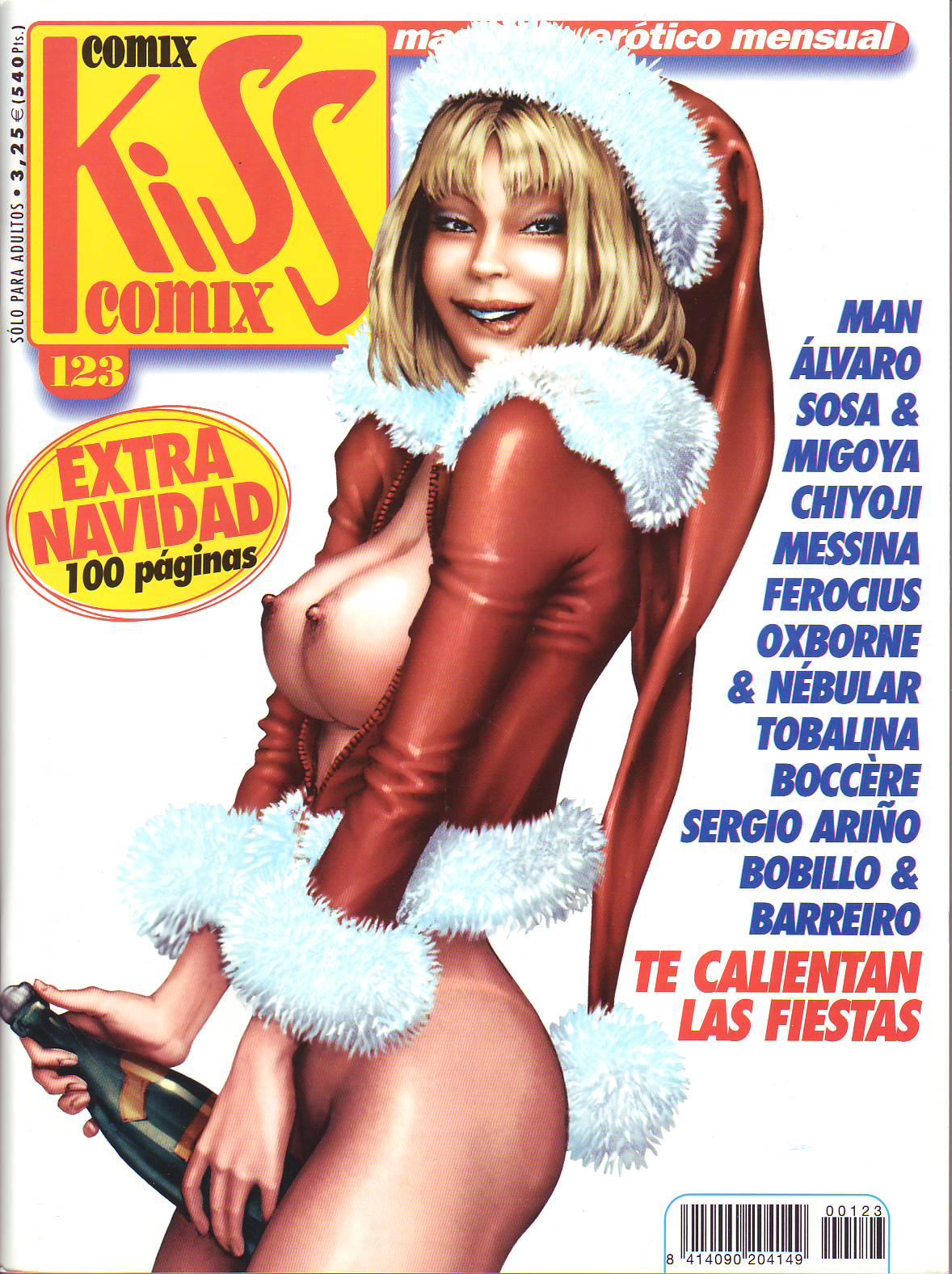 Kiss Comix 123