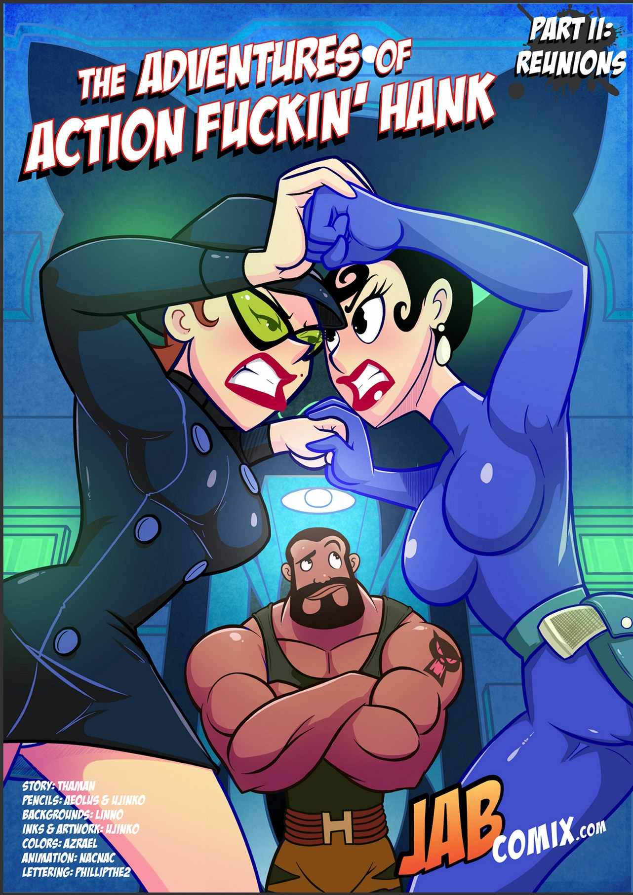 Adventures Of Action Fuckin Hank 2