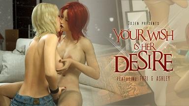 Your Wish Is Her Desire 3DZen
