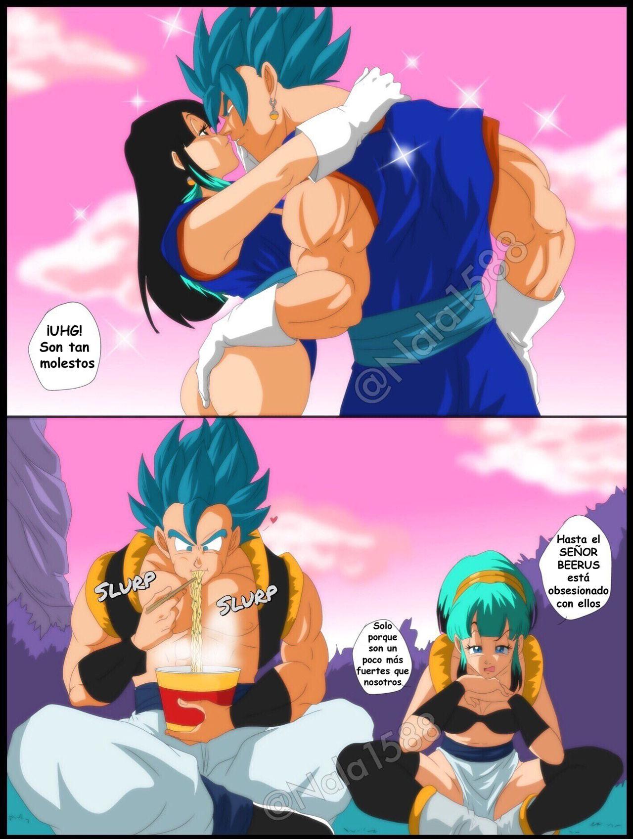 Nuevos comics porno dragonball Bang Bang Bulchi X Gogeta Dragon Ball Super Comics Porno