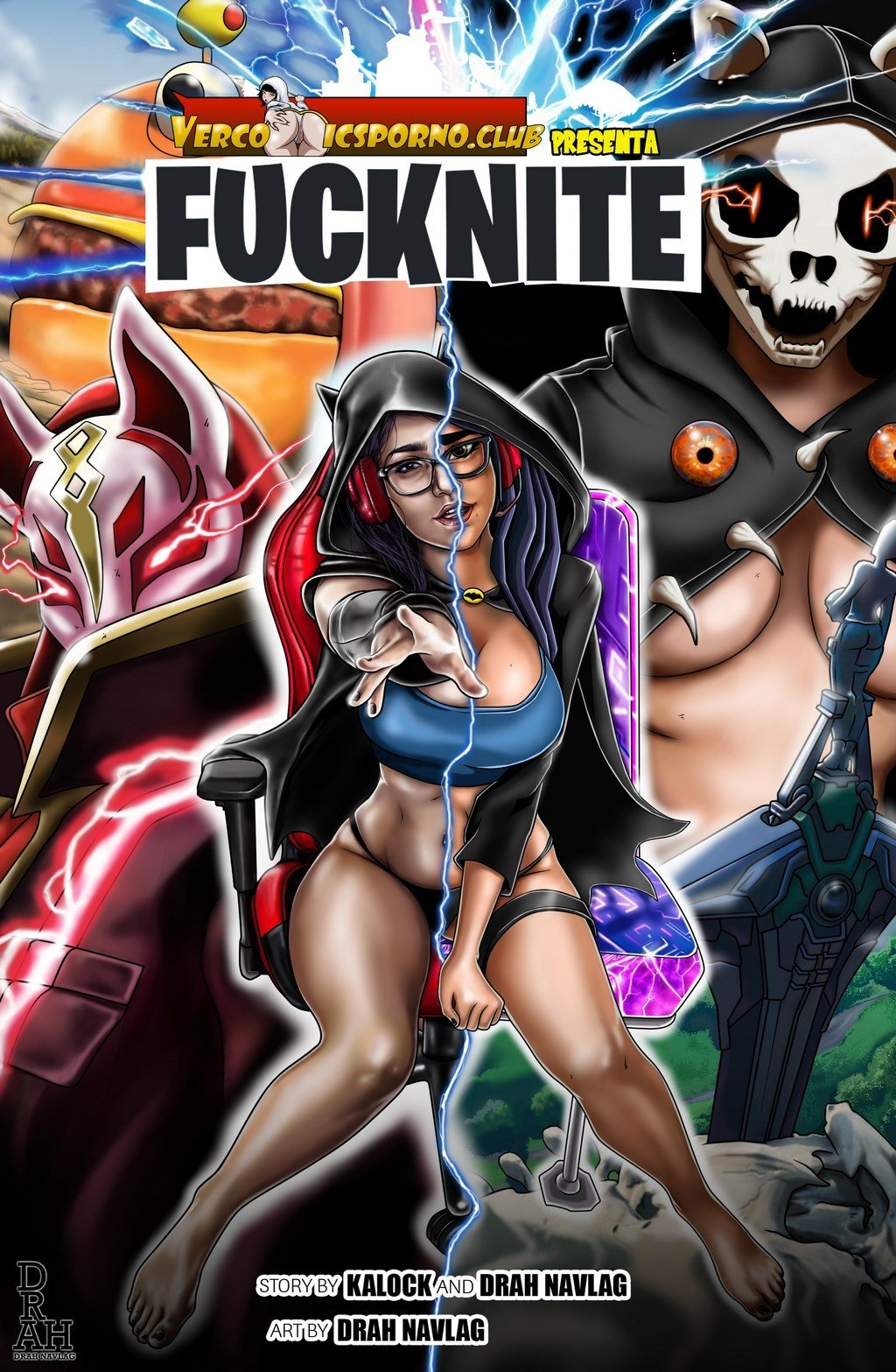 Fucknite – Fortnite Comic Porno