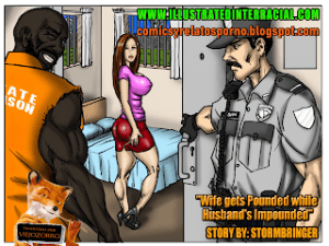 Prison Story – [Illustrated Interracial]