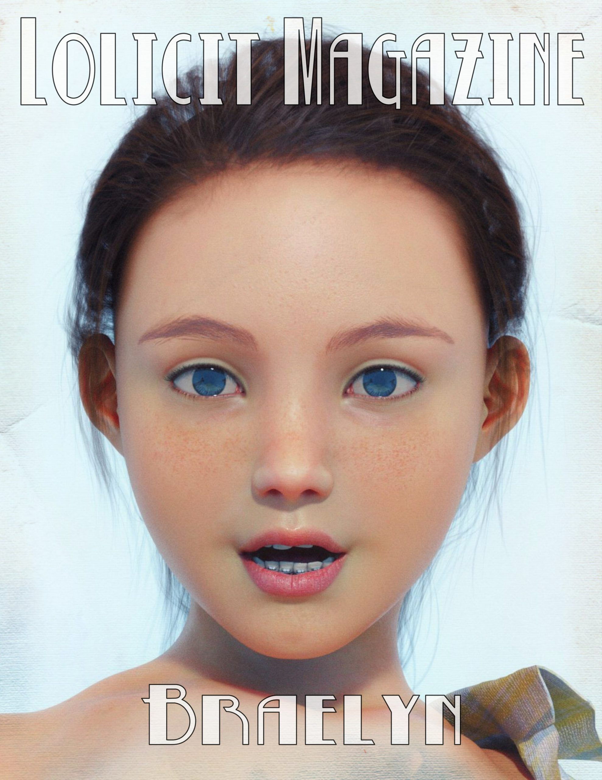 Lolicit Magazine 3D Braely Interracial