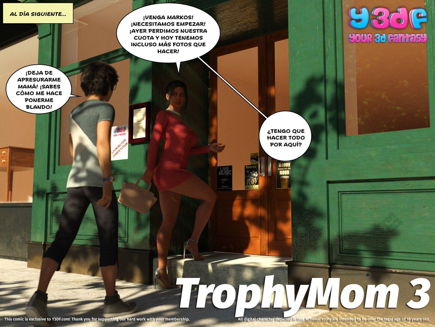 Y3DF Trophy Mom Parte 3