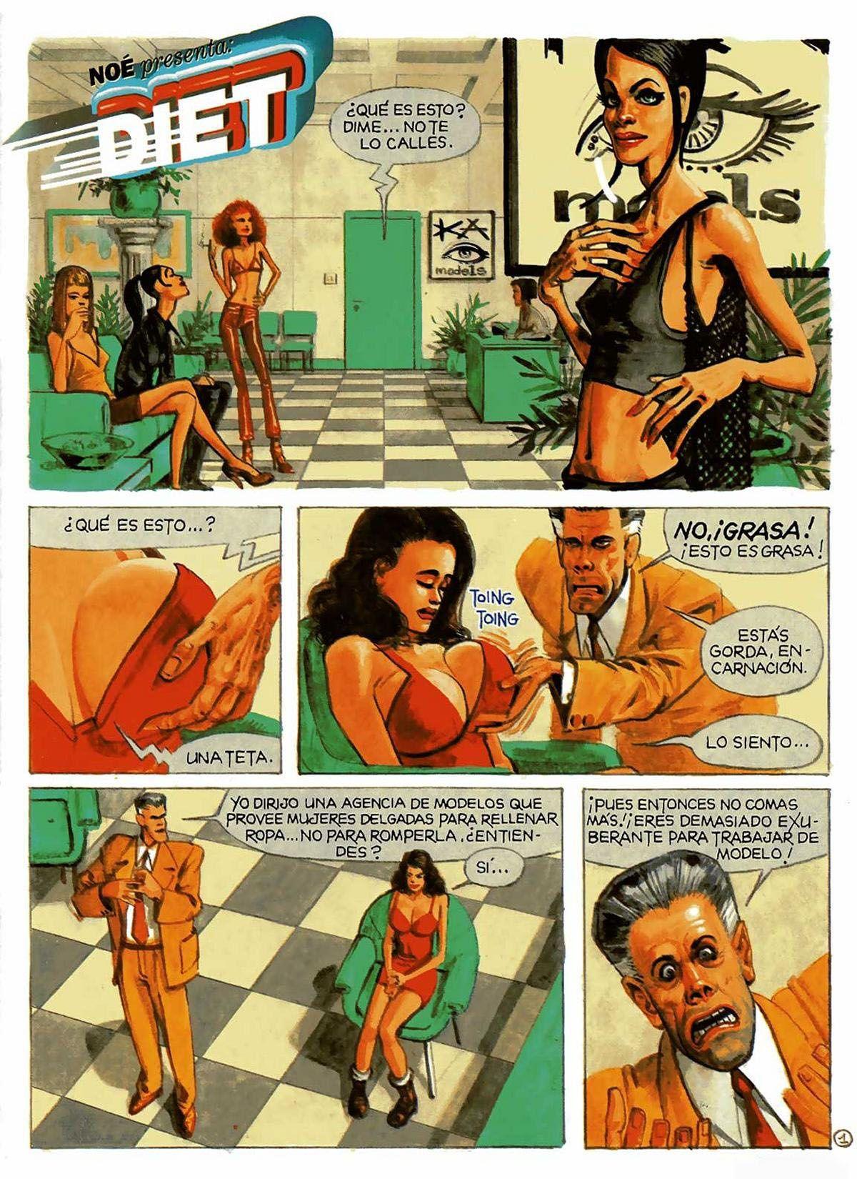 Coleccion X                                                                           La Cupula Nº 125 La Dieta [Eroticos Antiguos]