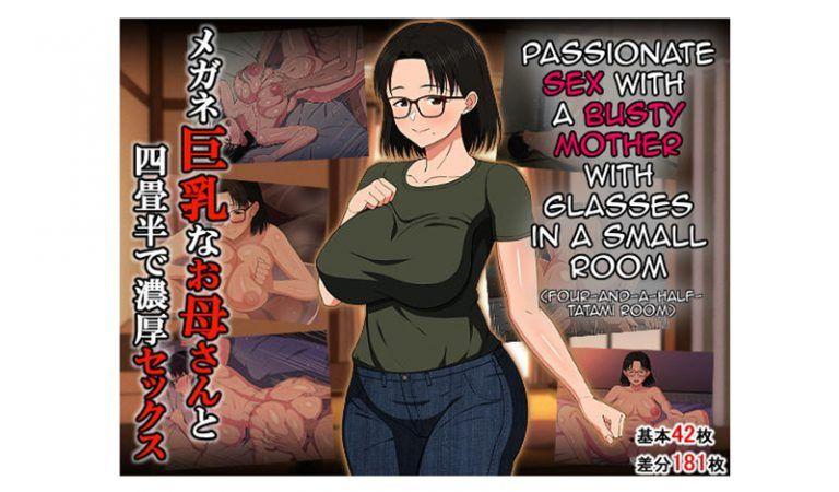 Sexo apasionado con una madre tetona con gafas [Haruharu]